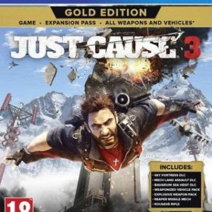 Just Cause 3 Gold Edition-Sony Playstation 4