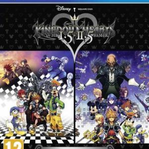 Kingdom Hearts HD 1.5 + 2.5 Remix-Sony Playstation 4