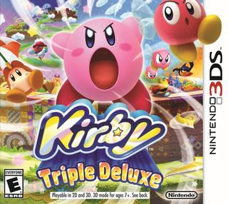 Kirby: Triple Deluxe-Nintendo 3DS