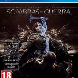 La Tierra Media: Sombras de Guerra-Sony Playstation 4