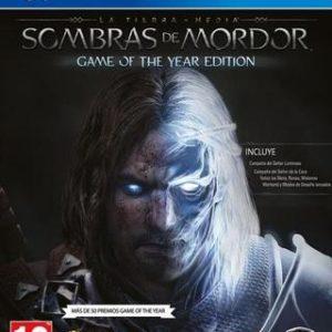 La Tierra Media Sombras de Mordor - Game of the Year Edition-Sony Playstation 4