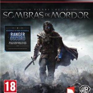 La Tierra Media: Sombras de Mordor-Sony Playstation 3