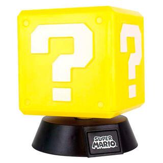 Lampara 3d Question Block Super Mario Bros Nintendo-