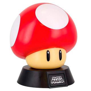 Lampara 3d Seta Super Mario Bros Nintendo-