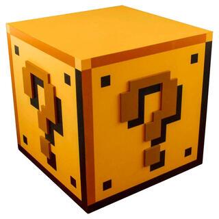 Lampara Question Block Super Mario Bros Nintendo-