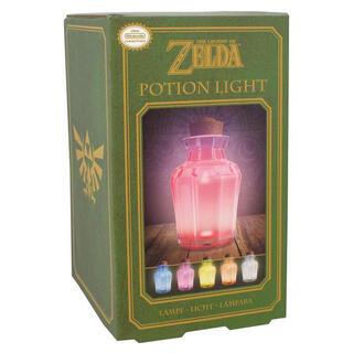 Lampara Zelda Poción Multicolor-