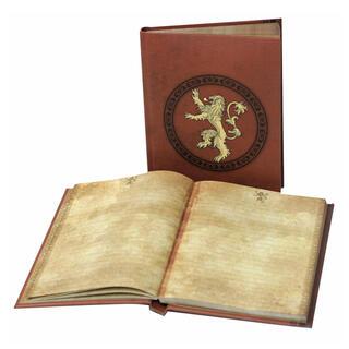 Libreta Luz Lannister Juego de Tronos-