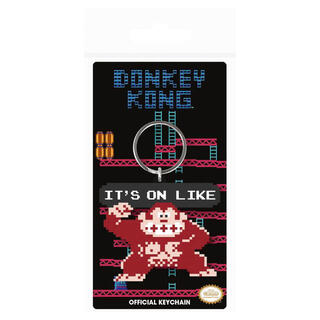 Llavero Donkey Kong It's On Like Nintendo-