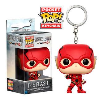 Llavero Pocket Pop Dc Justice League The Flash-