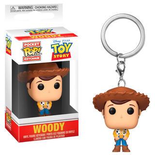 Llavero Pocket Pop Disney Pixar Toy Story Woody-