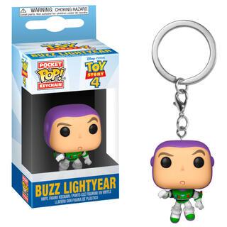 Llavero Pocket Pop Disney Toy Story 4 Buzz Lightyear-