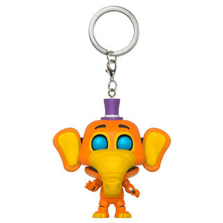 Llavero Pocket Pop Five Nights Al Freddys 6 Pizza Sim Orville Elephant-