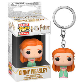 Llavero Pocket Pop Harry Potter Ginny Weasley Yule Ball-