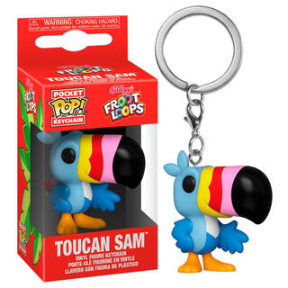 Llavero Pocket Pop Kelloggs Froot Loops Toucan Sam-