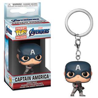 Llavero Pocket Pop Marvel Avengers Endgame Captain America-