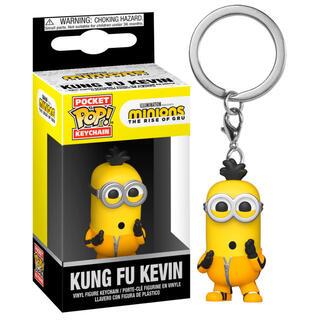 Llavero Pocket Pop Minions 2 Kung Fu Kevin-