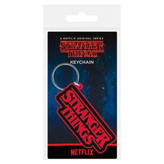 Llavero Rubber Logo Stranger Things-