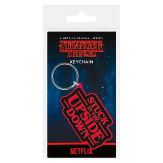 Llavero Rubber Stuck In The Upside Down Stranger Things-