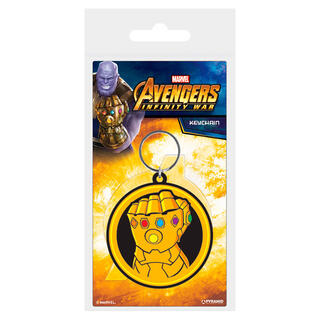 Llavero Rubber Thanos Vengadores Infinity War Avengers Marvel-