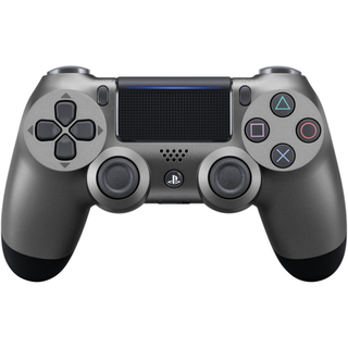 Mando Dualshock Cont Steel Black V2-Sony Playstation 4