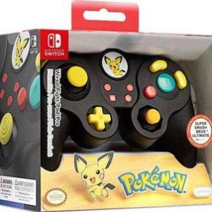Mando Pro Alámbrico Pichu-Nintendo Switch
