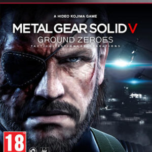 Metal Gear Solid V Ground Zeroes-Sony Playstation 3