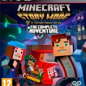 Minecraft Story Mode La Aventura Completa-Sony Playstation 3