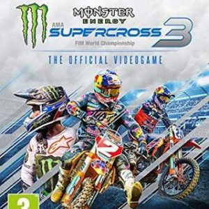 Monster Energy Supercross 3 The Official Videogame-Microsoft Xbox One