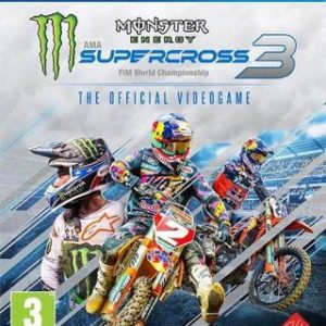 Monster Energy Supercross 3 The Official Videogame-Sony Playstation 4