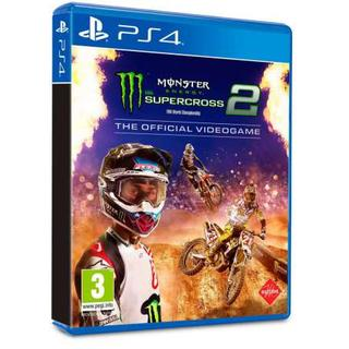Monster Energy's Supercross 2 The Official Videogame-Sony Playstation 4