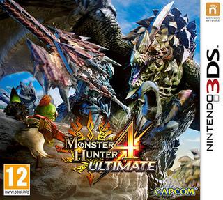 Monster Hunter 4 Ultimate-Nintendo 3DS