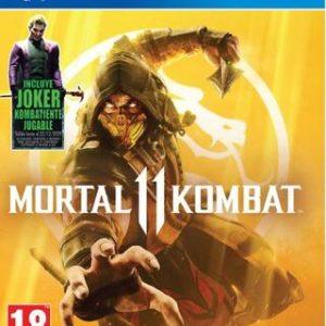 Mortal Kombat 11 (Incluye DLC Joker)-Sony Playstation 4