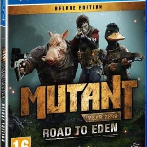 Mutant Year Zero Road to Eden Deluxe Edition-Sony Playstation 4