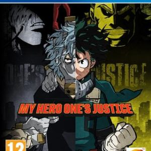 My Hero One's Justice-Sony Playstation 4
