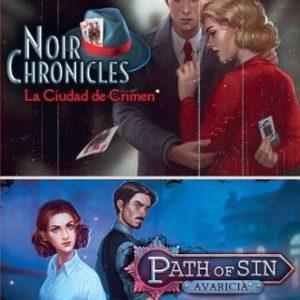 Mystery Investigations 1- Noir Chronicles: La Ciudad del Crimen + Path of Sin: Avaricia-Nintendo Switch