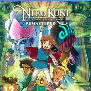 Ni No Kuni: La Ira de la Bruja Blanca Remastered-Sony Playstation 4