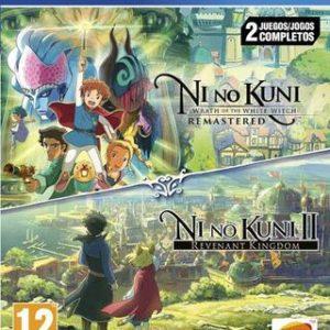 Ni No Kuni + Ni No Kuni 2 Double Pack-Sony Playstation 4
