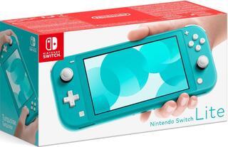 Nintendo Switch Lite Azul Turquesa-Nintendo Switch