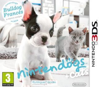 Nintendogs + Cats Bulldog Francés y nuevos amigos-Nintendo 3DS
