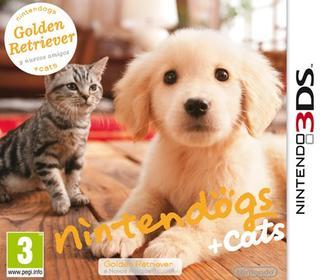 Nintendogs + Cats Golden Retriver y nuevos amigos-Nintendo 3DS