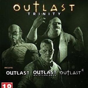 Outlast Trinity-Microsoft Xbox One