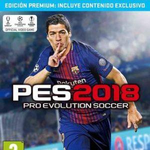PES 2018-Sony Playstation 4