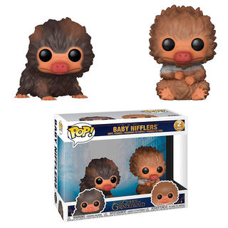 Pack 2 Figuras Pop Fantastic Beasts 2 The Crimes of Grindelwald Baby Nifflers-