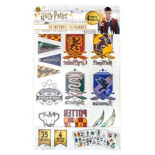 Pack 35 Tatuajes Temporales Harry Potter-