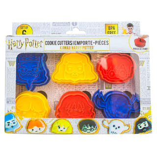 Pack 6 Moldes Galletas Harry Potter-