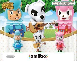 Pack Amiibos Animal Crossing-amiibo