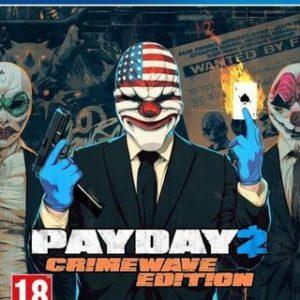 PayDay 2 Crimewave Edition-Sony Playstation 4