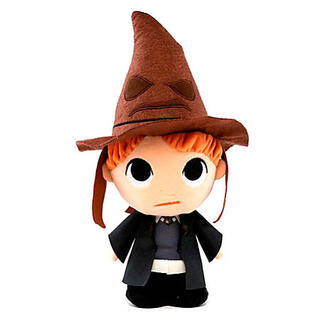 Peluche Harry Potter Ron With Sorting Hat 15cm-