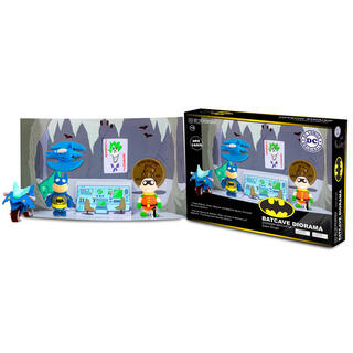 Plastilina Super Dough Batcueva Dc Comics Diy-