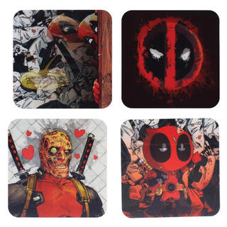 Posavasos 3d Deadpool Marvel-